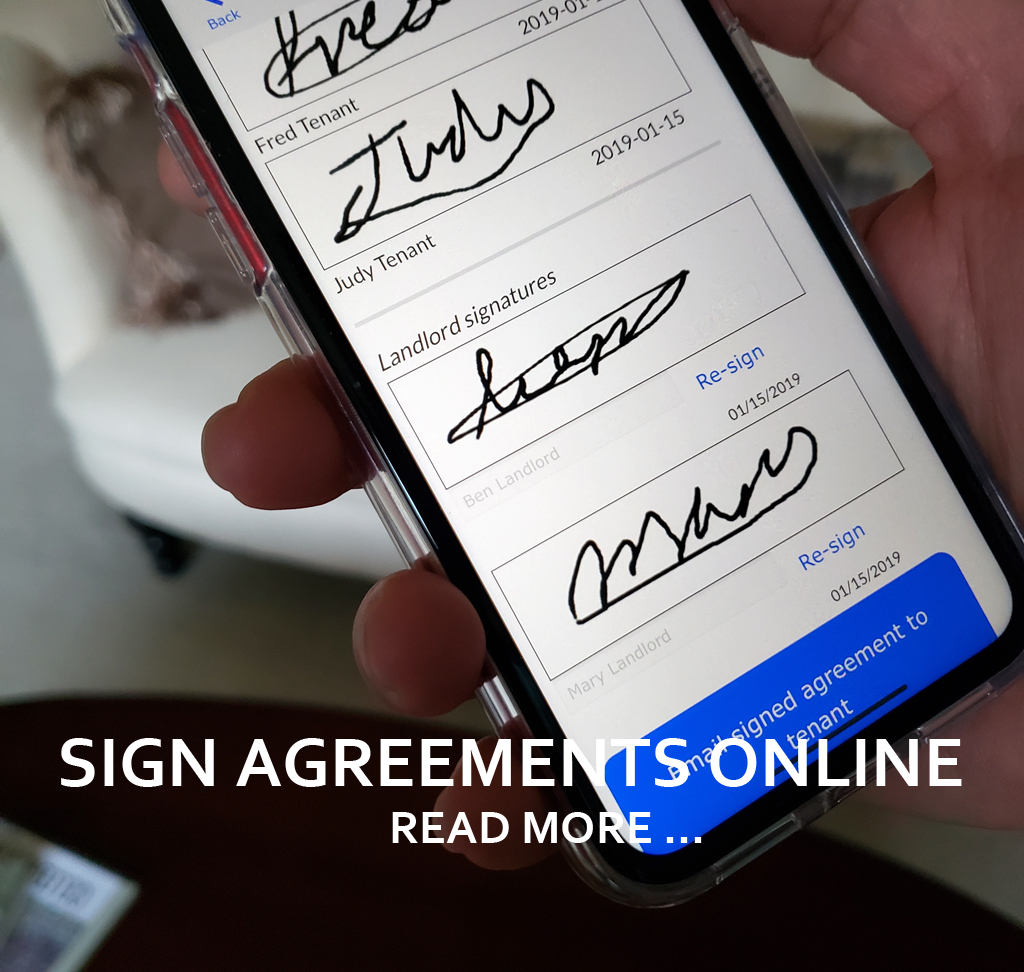 SAVE TIME WITH ONLINE SIGNATURES